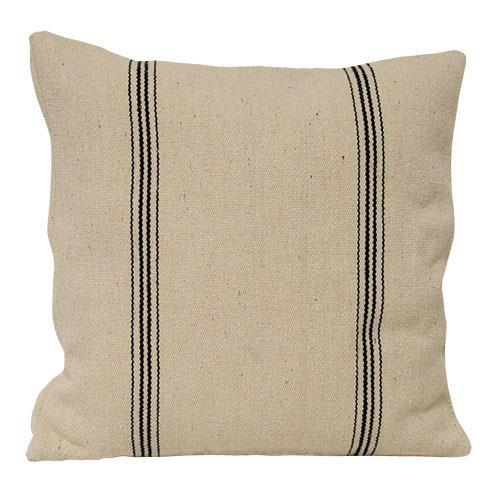 Black Stripe Pillow Case