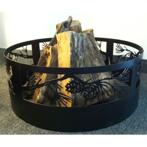 Pine Branch Campfire Ring