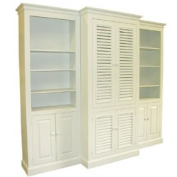 Three Piece Cottage Wall Unit