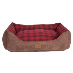 Red Ombre Plaid Kuddler