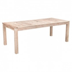 South Port Dining Table White Wash